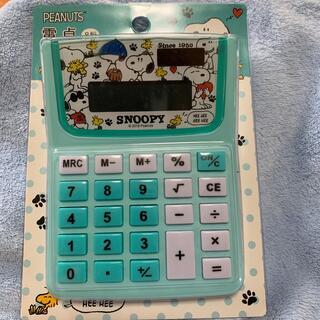 スヌーピー(SNOOPY)の電卓 スヌーピー     (オフィス用品一般)