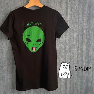 Supreme - ripndip sk8 we out here エイリアン半袖Tシャツ