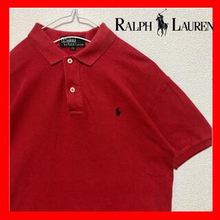 Ralph Lauren - RalphLauren ラルフローレン ポロシャツ 古着 赤