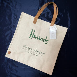 Harrods - ハロッズ トートバッグ ショッピングバッグ エコバッグ 新品