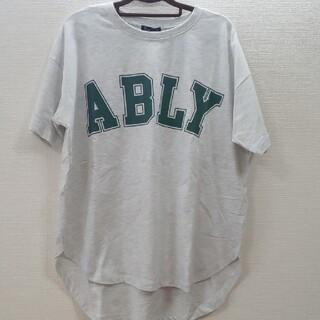 しまむら - ビッグシルエットTシャツ ロゴTシャツ カレッジロゴTシャツ 近藤千尋 グレイル