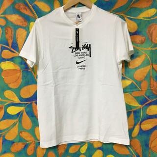 stussy nike コラボ Tシャツ S(Tシャツ/カットソー(半袖/袖なし))