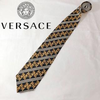 Gianni Versace - 未使用保管品 ジャンニ ヴェルサーチ 希少柄 ネクタイ シルク100