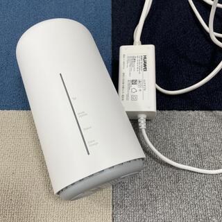UQ WIMAX Speed Wi-Fi HOME L02 ルーター(PC周辺機器)
