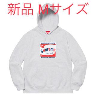 Supreme - SUPREME Shine Hooded Sweatshirt グレー Mサイズ