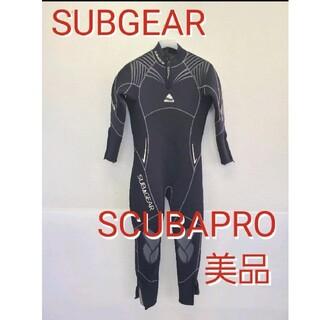 スキューバプロ(SCUBAPRO)の美品 サブギア  ウェットスーツ スキューバプロダイビングSCUBAPRO(マリン/スイミング)