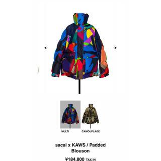 sacai - sacai x KAWS / Padded Blouson ダウン