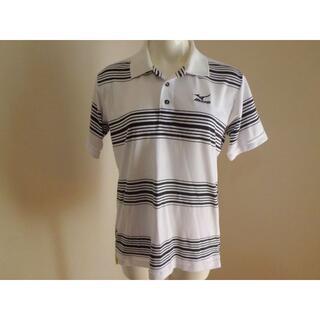 MIZUNO - メンズMサイズミズノMIZUNOゴルフウエアGOLF薄手ポロシャツスポーツウエア