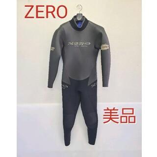 美品 ZERO ウェットスーツ フルスーツ ゼロ スキューバダイビングサーフィン(サーフィン)