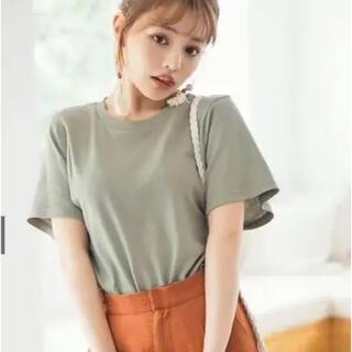 グレイル(GRL)のグレイル くすみピンクTシャツ(Tシャツ(半袖/袖なし))