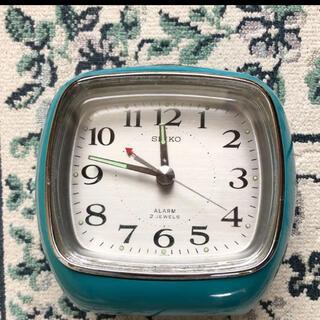 セイコー(SEIKO)のお値下げ SEIKO レトロ アンティーク置き時計(置時計)