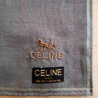 celine - 【CELINE/セリーヌ】メンズハンカチ