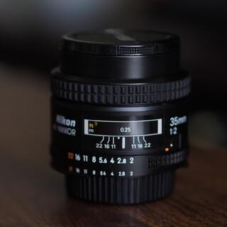 ニコン(Nikon)のニコン35mmf2af nikkor(レンズ(単焦点))