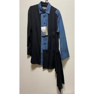 Yohji Yamamoto 21ss セルロースローン/8OZ デニム シャツ