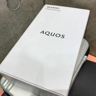 アクオス(AQUOS)の新品・未開封❇️AQUOS sense4 SH-M15 ライトカッパー(スマートフォン本体)