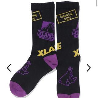 XLARGE - XLARGE collaborationwith #FR2 Logo Socks