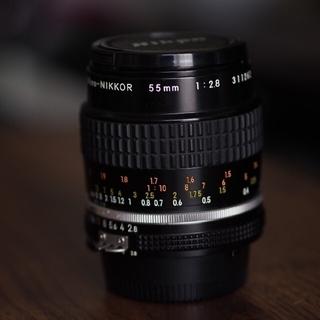 ニコン(Nikon)のニコンマイクロnikkor55mmf2. 8(レンズ(単焦点))