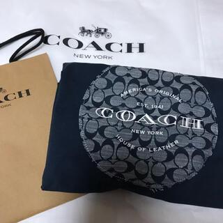 コーチ(COACH)のコーチ シグネチャーシャンブレー TシャツL(日本のX L)(Tシャツ/カットソー(半袖/袖なし))