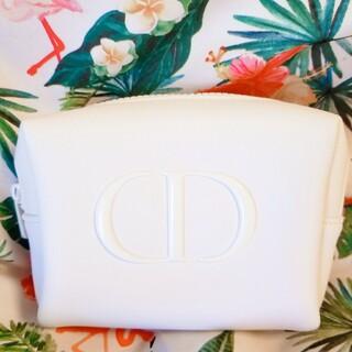 Dior - 【新品】Dior スノーエッセンスコフレ ポーチ ノベルティ ホワイト 白