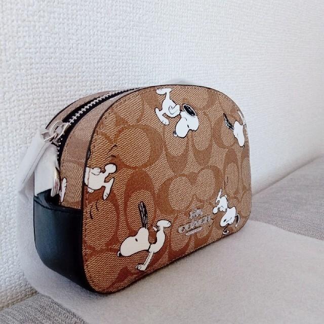 COACH(コーチ)のCOACH×PEANUTSコーチ セレナ クロスボディ スヌーピー シグネチャー レディースのバッグ(ショルダーバッグ)の商品写真