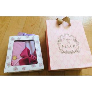 Maison de FLEUR - Maison de FLEUR タオルハンカチ&巾着袋