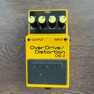 BOSS エフェクター オーバードライブ OS-2 Over drive(エフェクター)