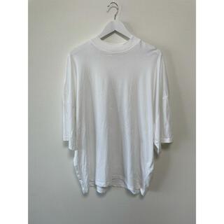 ジルサンダー(Jil Sander)のジルサンダー JILSANDER ビッグシルエットモックネックTシャツ L(Tシャツ/カットソー(半袖/袖なし))