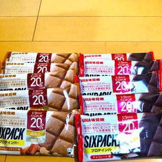 ユーハミカクトウ(UHA味覚糖)のUHA味覚糖 プロテインバー SIXPACK         2種類 (プロテイン)