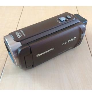 Panasonic - Panasonic HC W585M ハンディカム 箱無し、バッグ、大型バッテリ