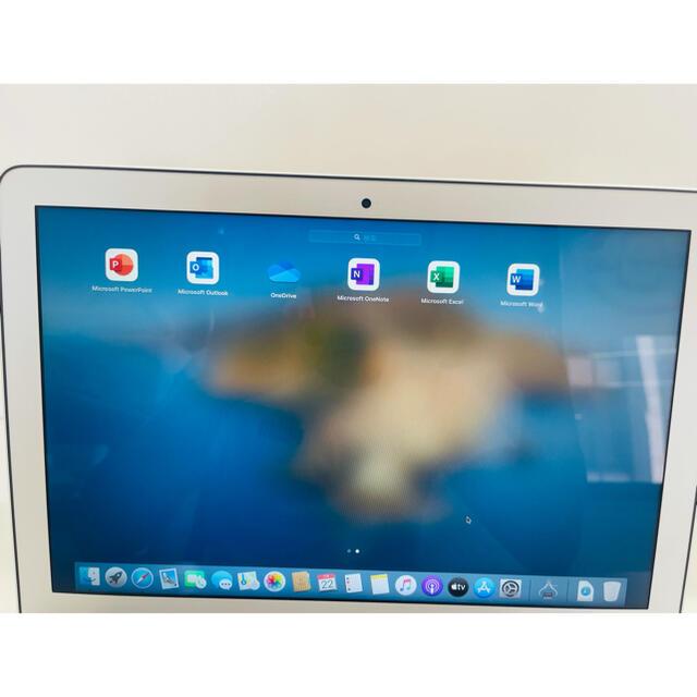 Mac (Apple)(マック)のApple MacBook Air 2014 Office 2019 付き  スマホ/家電/カメラのPC/タブレット(ノートPC)の商品写真
