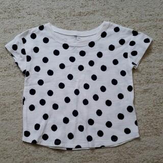 ムジルシリョウヒン(MUJI (無印良品))のドット柄Tシャツ(Tシャツ/カットソー)