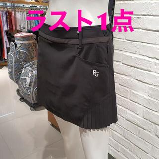 PEARLY GATES - パーリーゲイツ スカート インナー付 ゴルフウェア 韓国 ブラック