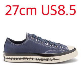 FRAGMENT - 27cm CONVERSE MONCLER FRAGMENT NAVY