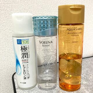 AQUALABEL - 化粧水3本セット