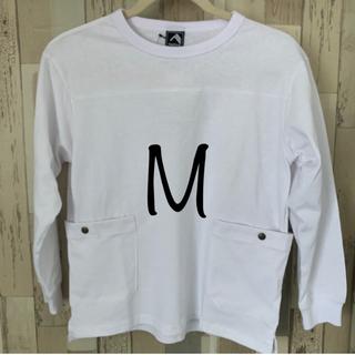パタゴニア(patagonia)の長袖 Tシャツ ワークマン M 白 DIAGUARD コットン 防虫加工(Tシャツ/カットソー(七分/長袖))