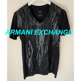 アルマーニエクスチェンジ(ARMANI EXCHANGE)のアルマーニエクスチェンジ Tシャツ 黒 ブラック(Tシャツ/カットソー(半袖/袖なし))