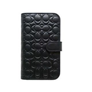 iPhone12mini 手帳型ケース ⭐︎コーチ⭐︎