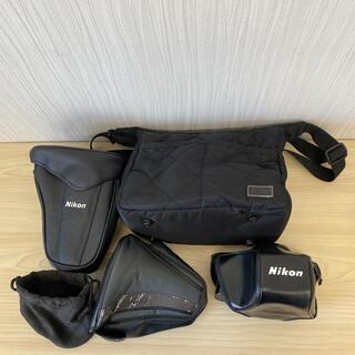 ニコン(Nikon)の【K2185】Nikon ニコン カメラケース 5点セット(ケース/バッグ)
