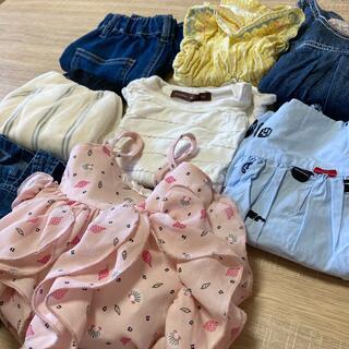 ベビーギャップ(babyGAP)の子供服まとめ売り 女の子 80cm 夏服 半袖(その他)