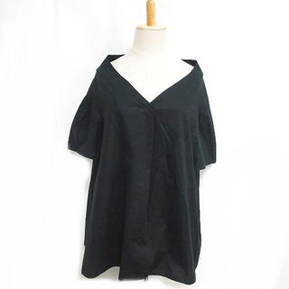 フレームワーク(FRAMeWORK)のフレームワーク ブラウス スキッパー シャツ プルオーバー ブラック F(シャツ/ブラウス(半袖/袖なし))