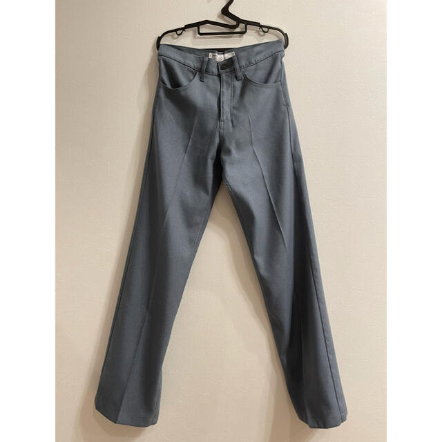 Jieda(ジエダ)のdairiku ダイリク flasher pressed pants ブルー メンズのパンツ(スラックス)の商品写真