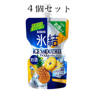 キリン(キリン)の氷結 アイススムージー パイナップル 150ml×4個(リキュール/果実酒)