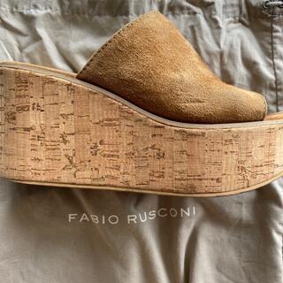 ファビオルスコーニ(FABIO RUSCONI)のFABIO RUSCONI プラットフォームサンダル(サンダル)