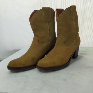 ダコタ(Dakota)のDAKOTA ダコタ スエード ショート ウエスタン ブーツ 23センチ(ブーツ)