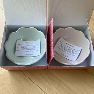 ルクルーゼ(LE CREUSET)の新品未使用☆ルクルーゼ☆フリルボール14cm 2枚セット(食器)