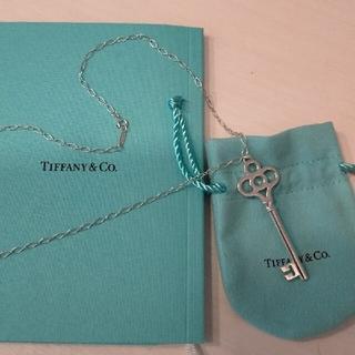 Tiffany & Co. - ティファニー クラウンキー ネックレス ペンダント シルバー Tiffany