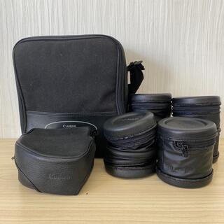 キヤノン(Canon)の【K2186】Canon キャノン カメラケース 6点セット(ケース/バッグ)