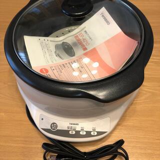 ツインバード(TWINBIRD)のTWINBIRD ツインバード 深型グリル鍋(調理機器)