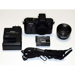 Nikon - V1 1 NIKKOR 10-30mm F3.5-5.6 VR PD 黒