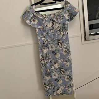 デイジーストア(dazzy store)のティアラ tiara 韓国インポート オフショル キャバ タイト ドレス(ナイトドレス)